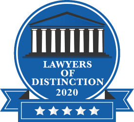 Lawyers of Distinction 2020 Logo