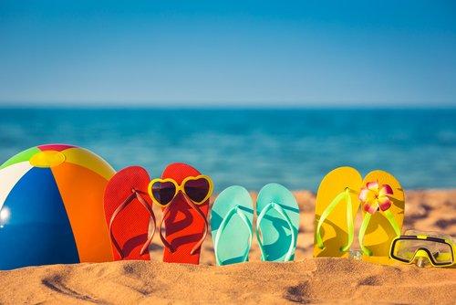 Summer Family Beach